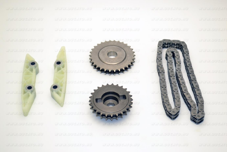 Vezérműlánc garnítúra alsó 3,0 Euro4 MJtd/ CNG