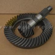 Kúptányér+tengely szett 12x47 06- Iveco