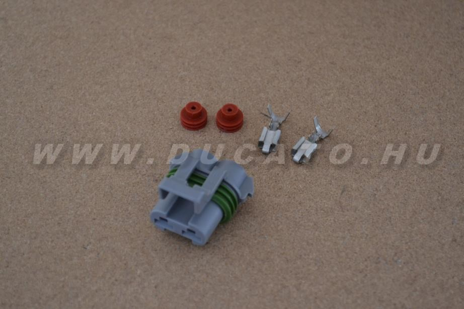 Csatlakozó 2 kábel (Hűtőventillátor)
