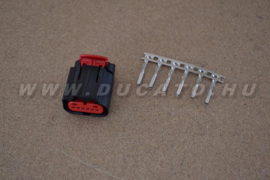 Csatlakozó 6 szállas kábel nélkül (Puma légtömegmérő)