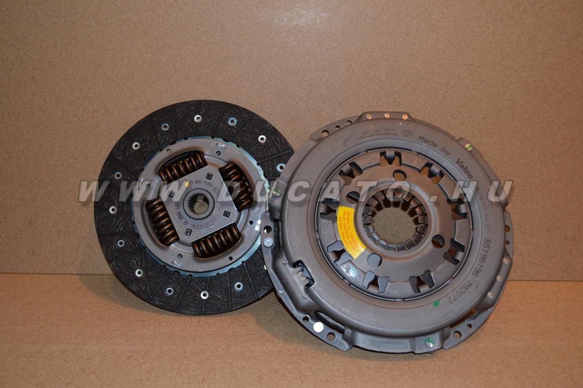 Kuplung szett 2.3Jtd 255mm 06-11 Euro4 Gyári