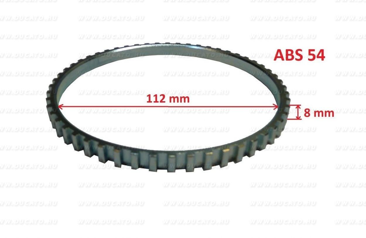 "ABS gyűrű Z54 112X8mm 16"" Duc 94-06"
